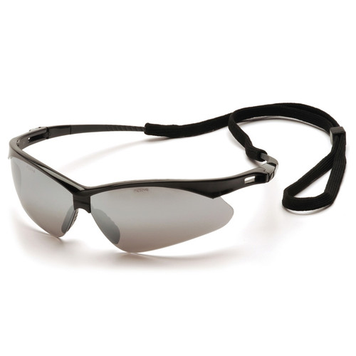 Pyramex Safety Glasses PMXTREME Silver Mirror with Cord - Box Of 12