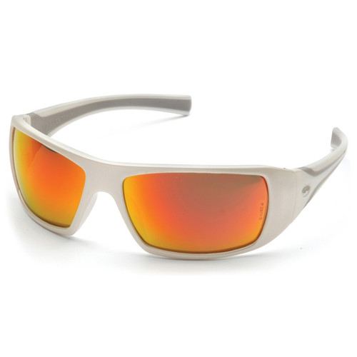 SW5655D Pyramex Safety Glasses Goliath Sky Red Mirror - Box of 12