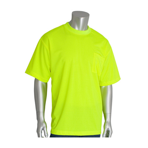 PIP Non-ANSI Moisture Wicking T-Shirt 310-CNTSN Yellow