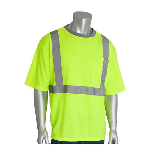 PIP Class 2 Hi Vis Short Sleeve T-Shirt 312-1200 Yellow