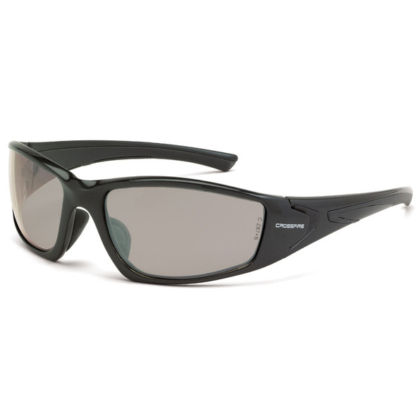 Crossfire RPG Pearl Gray Full Frame Indoor Outdoor Lens Safety Glasses 23615 - Box of 12