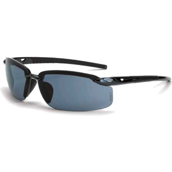 Crossfire ES5 Pearl Black Half-Frame Smoke Lens 2961 Safety Glasses - Box of 12
