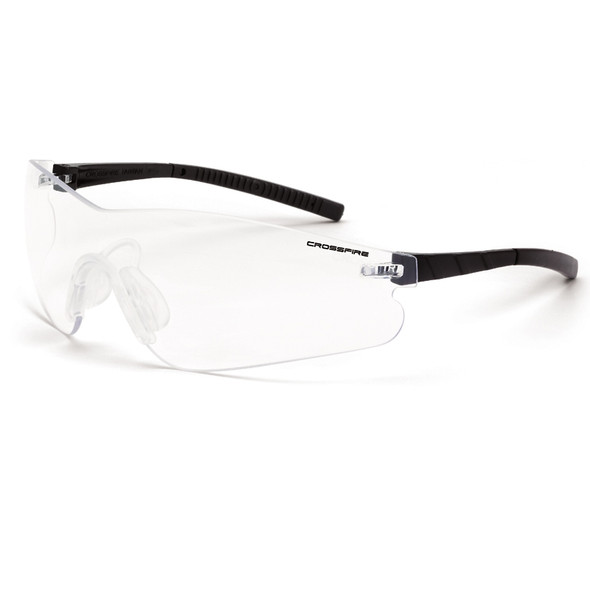 Crossfire Blade Frameless Anti Fog Clear Lens Safety Glasses 3024AF - Box of 12