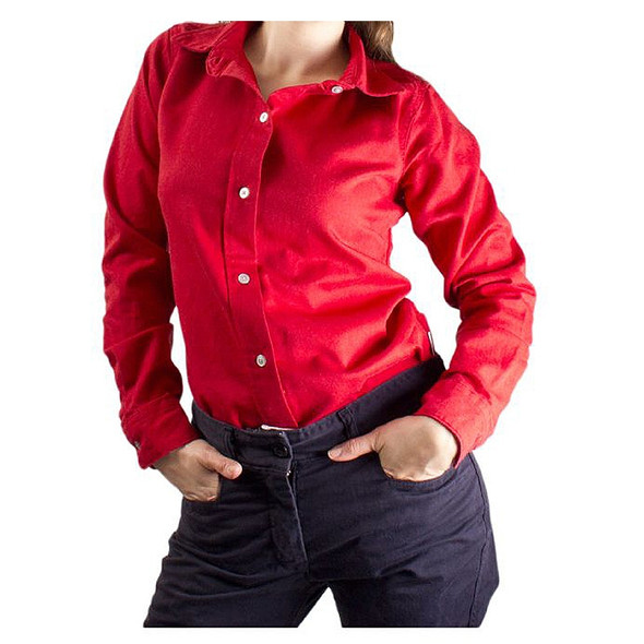 NSA Womens FR UltraSoft AC Button Down Shirt NFPA 70E SHRDURGW