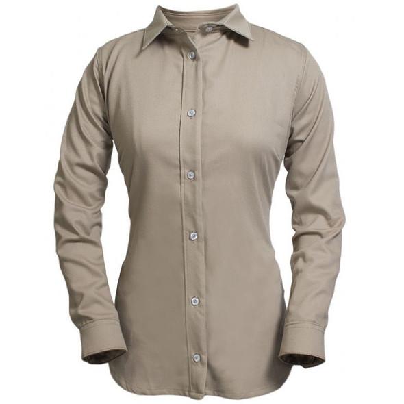 NSA Womens FR UltraSoft Made in USA Button Down Shirt SHRUKW