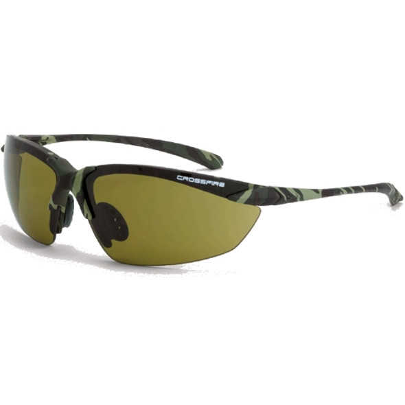Crossfire Sniper Safety Sunglasses - Box of 12 - 91721