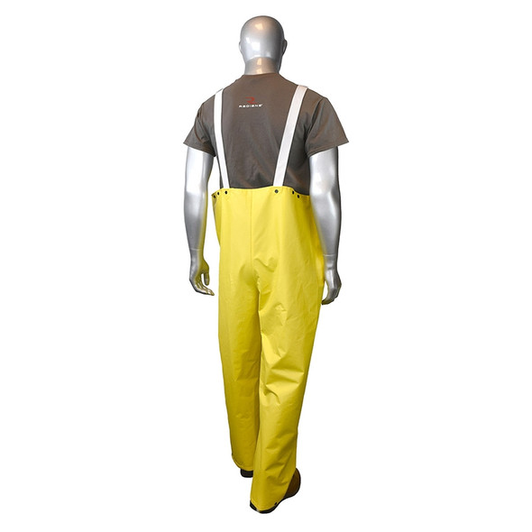Radians Drirad Non-ANSI Waterproof Rainwear Bib RB15-NS Back