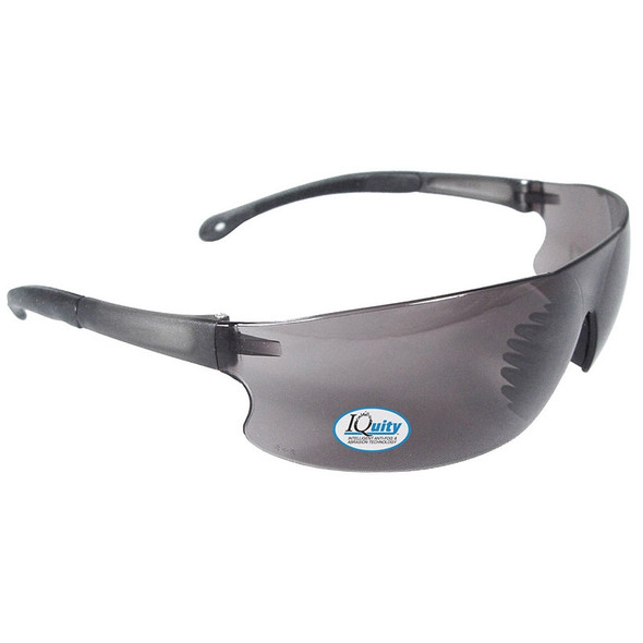 iQuity Rad-Sequel IQ Anti-Fog Smoke Lens Glasses RS1-23 Box of 12