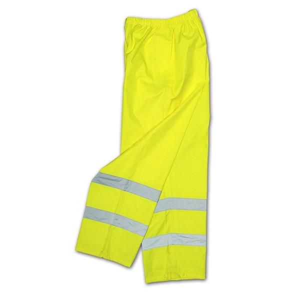 Radians Class E Hi Vis Green Lightweight Rain Pants RW10-ES1Y