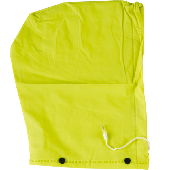 Neese Econo-Viz 1820J Non-ANSI Hi Vis Rain Jacket with Snap On Hood 10182-01 Hood