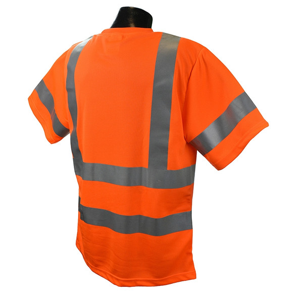 Radians Class 3 Hi Vis Moisture Wicking Mesh T-Shirt ST11-3POS Orange