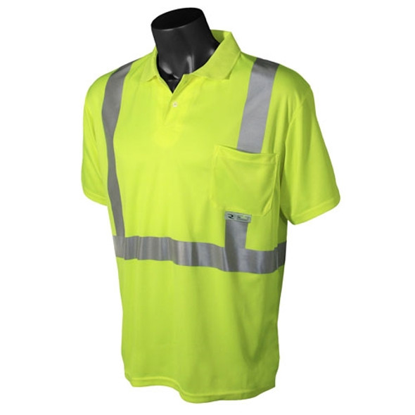 Radians Class 2 Hi Vis Short Sleeve Polo Shirt ST12-2P