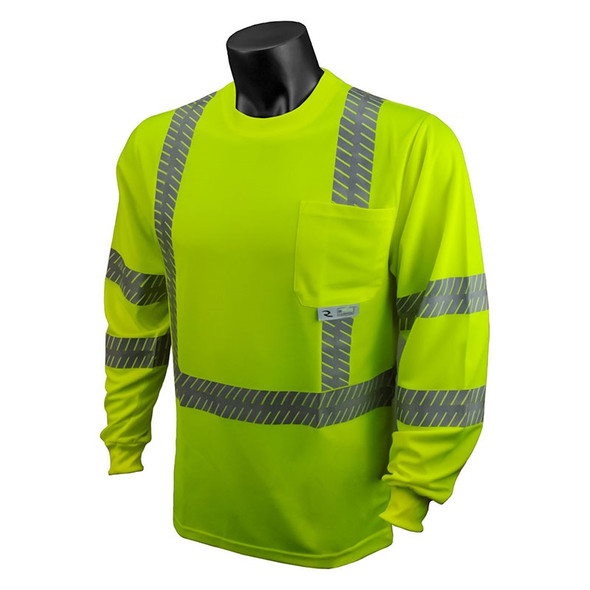 Radians Hi Viz Class 3 Long Sleeve UV Shirt ST24-3 Front