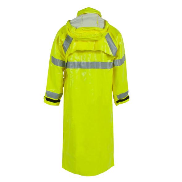 Neese FR Class 3 Hi Viz Lime Rain Jacket 26267-30 Back