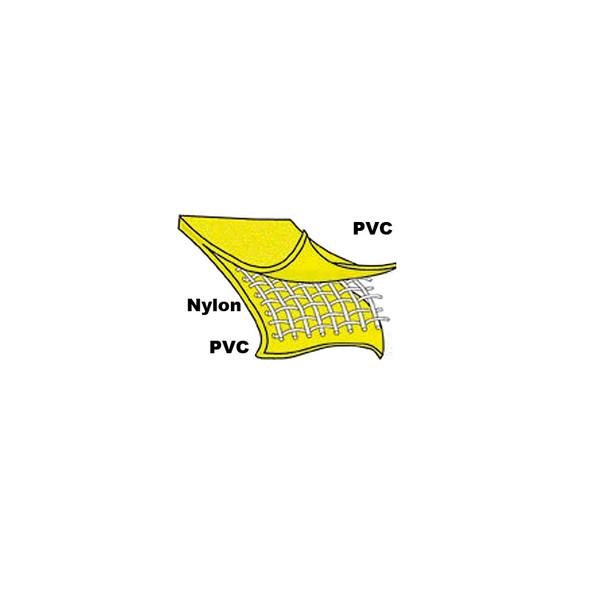 Neese Non-ANSI Hi Vis Yellow 35AC Full Length Raincoat with Hood 35001-30 Fiber