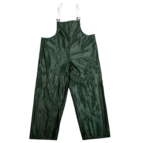 Neese Dura Quilt Green Industrial Waterproof Bib Trouser 56001-12 Close Up