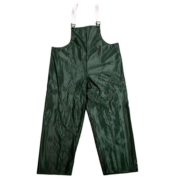 Neese Dura Quilt Green Industrial Waterproof Bib Trouser 56001-12 Close Up