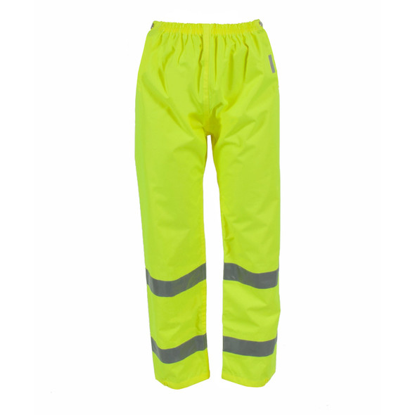 Neese Class E Hi Vis Air-Tex Waterproof Elastic Waist Rain Pants 9100ET Front
