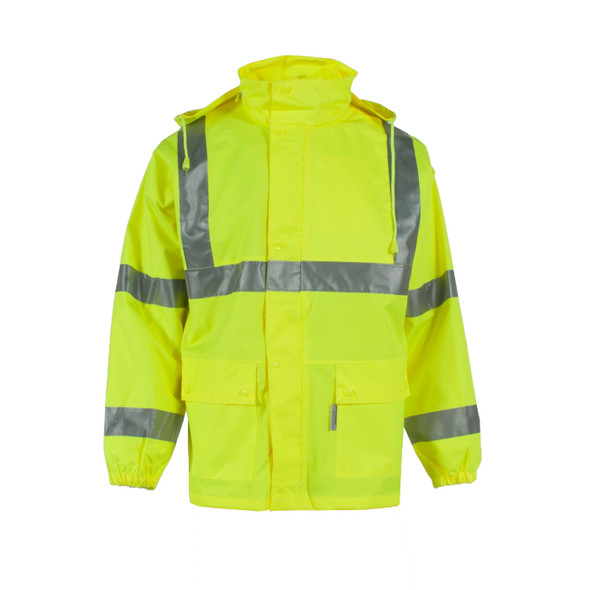Neese Class 3 Hi Vis Waterproof Air-Tex Rain Jacket 9100APK Front
