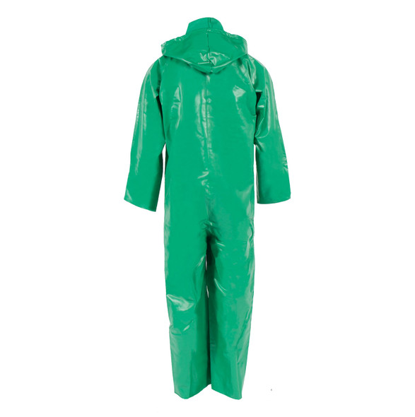 Neese ASTM F903 Chem Shield 96ACA Splash Coveralls With Attached Hood 96001-50 Back