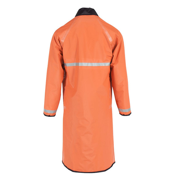 Neese Non-ANSI Orange 447RCH3M Reversible Police Raincoat UN449-33 Back