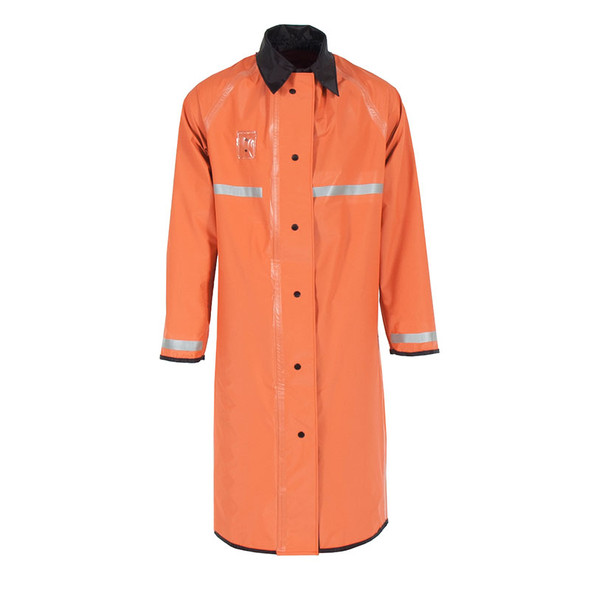 Neese Non-ANSI Orange 447RCH3M Reversible Police Raincoat UN449-33 Front