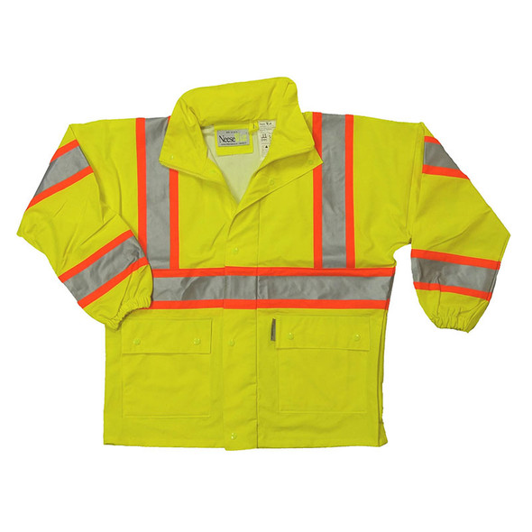 Neese Class 3 Hi Vis Waterproof Parka Jacket with Hood 9220APK