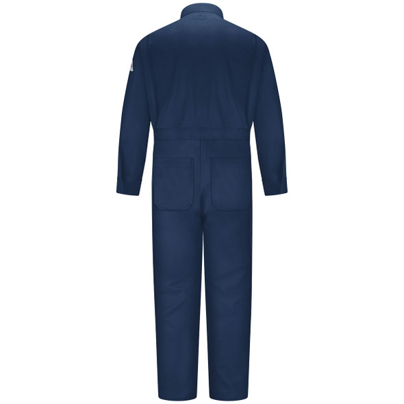 Bulwark FR Excel Coveralls CEB2 Navy back