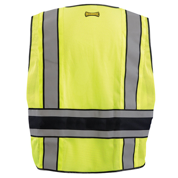Occunomix Class 2 Hi Vis Public Safety DOR Vest LUX-DPS-DOR back