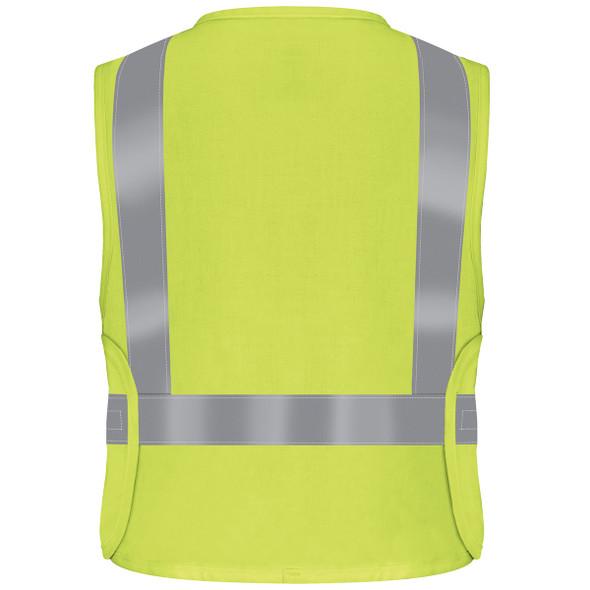 Bulwark FR Class 2 Hi Vis Safety Vest VMV4HV Back