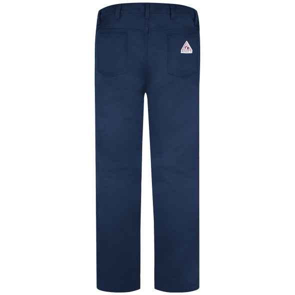 Bulwark FR 9 oz. Excel Jean Style Cotton Twill Pants PEJ2NV Back