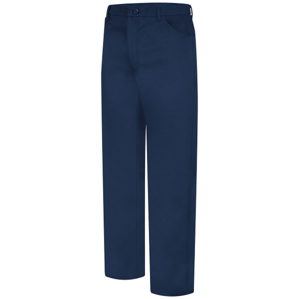 Bulwark FR 9 oz. Excel Jean Style Cotton Twill Pants PEJ2NV Front