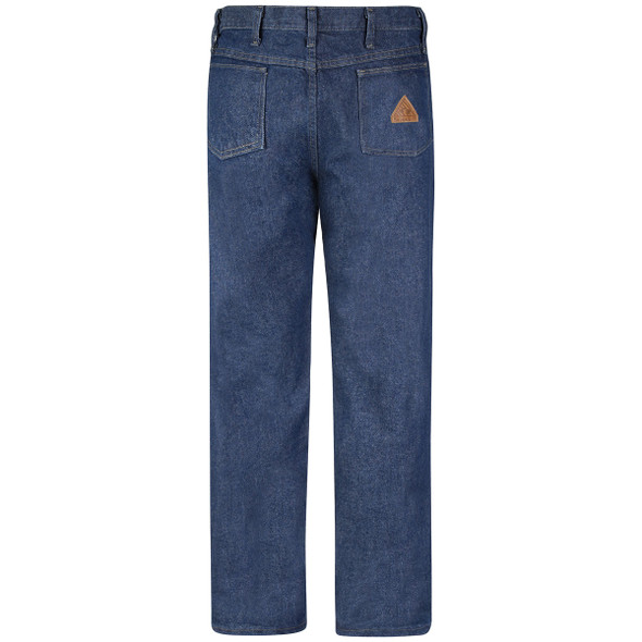 Bulwark FR 14.75 oz. Excel Prewashed Denim Jeans PEJ4 Back