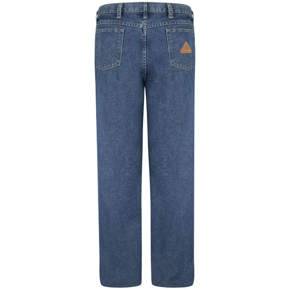 Bulwark FR 14.75 oz. Excel Stone Washed Denim Jeans PEJ6SW Back
