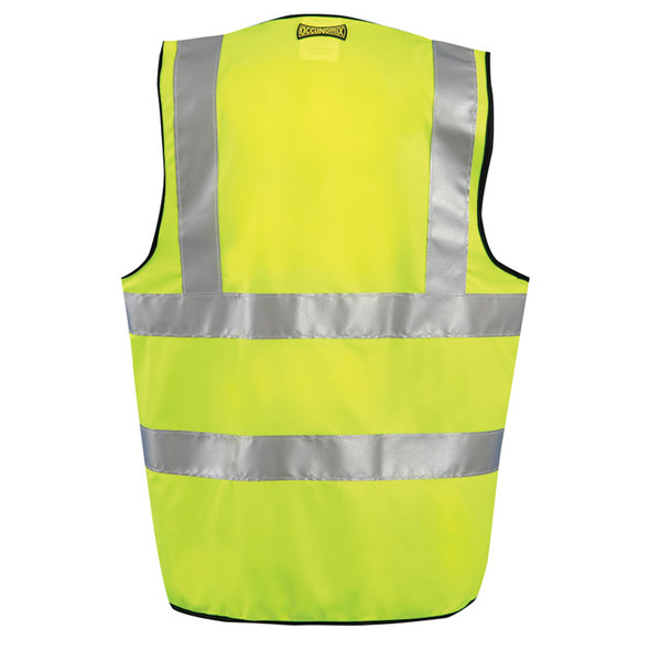 Occunomix Class 2 Hi Vis Safety Vest Class 2 LUX-SSFULLG Yellow Back