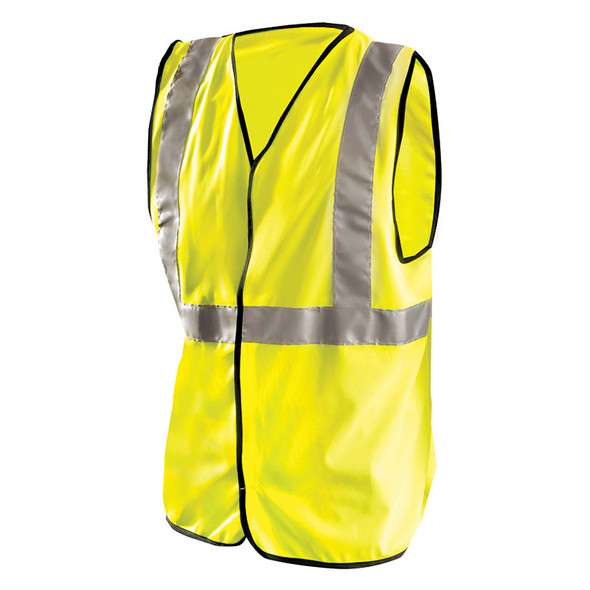 Occunomix Class 2 Hi Vis Solid Safety Vest LUX-SSG Yellow Front