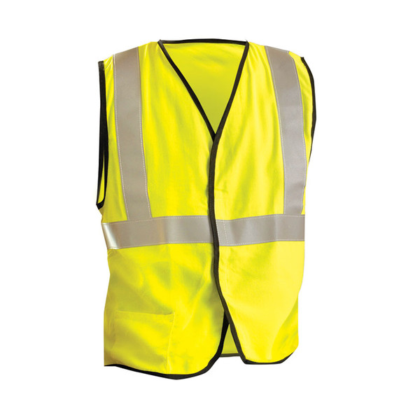 Occunomix FR Class 2 Hi Vis Yellow Safety Vest LUX-SSG-FR Yellow Front