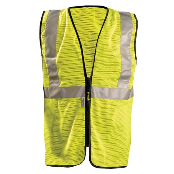 Occunomix Class 2 Hi Vis Mesh Safety Vest LUX-SSGZC Front