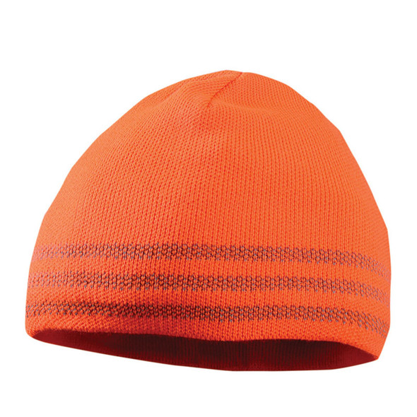 Occumomix Tri-Band Reflective Beanie LUX-TBRB Orange