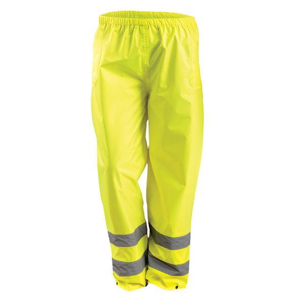 Occunomix Class E Hi Vis Classic Rain Pants LUX-TRPNT