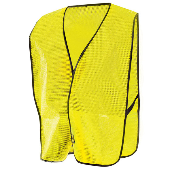 Occunomix Non ANSI Mesh Vest LUX-XNTM Yellow Front