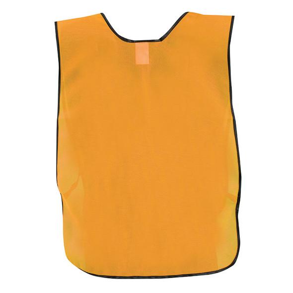 Occunomix Non ANSI Hi Vis Economy Safety Vest LUX-XNTS Orange Back