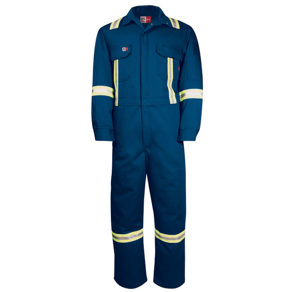 Big Bill FR X-Back UltraSoft 7 oz Deluxe Unlined Coveralls 1625US7 Royal Blue