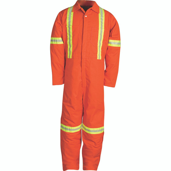 Big Bill X-Back Enhanced Visibility Two-Tone Cold Weather Insulated Coverall 837BF Front