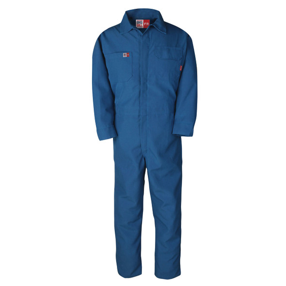 Big Bill FR 4.5 oz Westex Oilfield Coveralls TX1100N4 Royal Blue