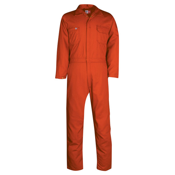 Big Bill FR Ultrasoft 7 oz. Unlined Coveralls TX1331US7 Orange