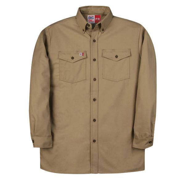 FR Work Shirt UltraSoft 7 oz. 147BDUS7 Khaki