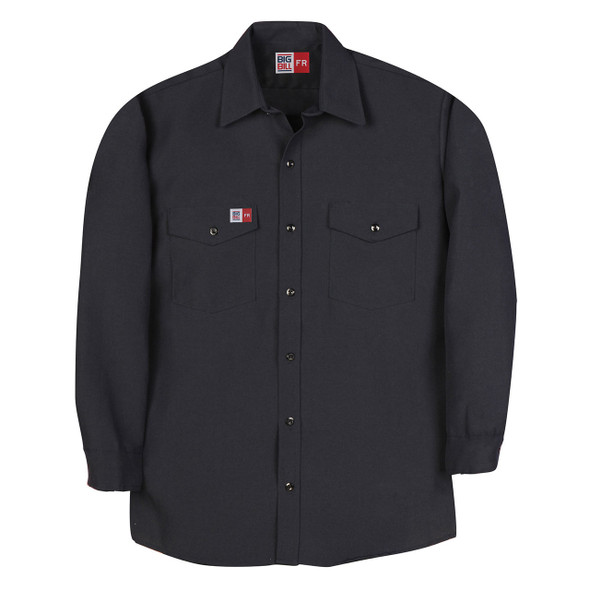 Big Bill FR 4.5 oz. Nomex Work Shirt TX290N4 Navy