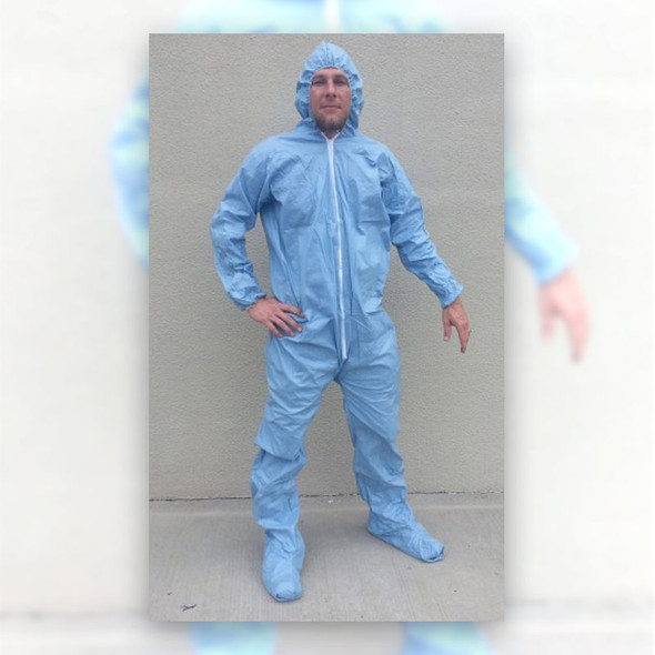 Sunrise Case of 25 SunGard FR Coveralls with Hood & Boots 25261