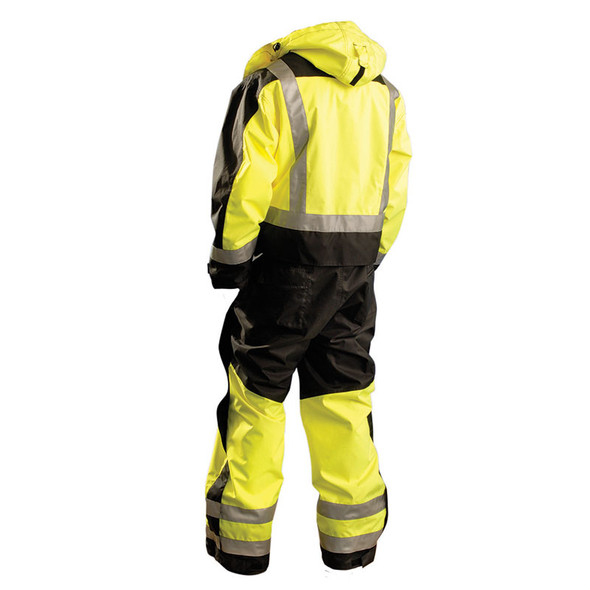 Occunomix Class 3 Cold Weather Hi Vis Speed Collection Coveralls SP-CVL Back